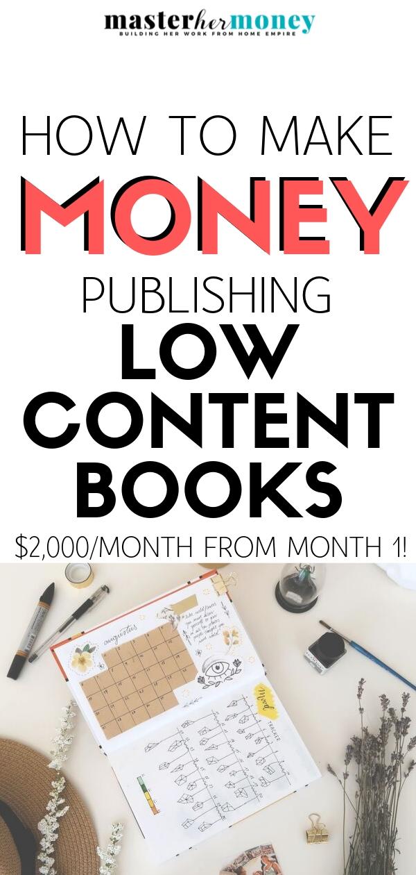 Low Content Publishing